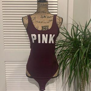 PINK tank bodysuit